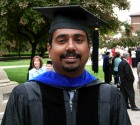 Rajeev at graduation May 2006